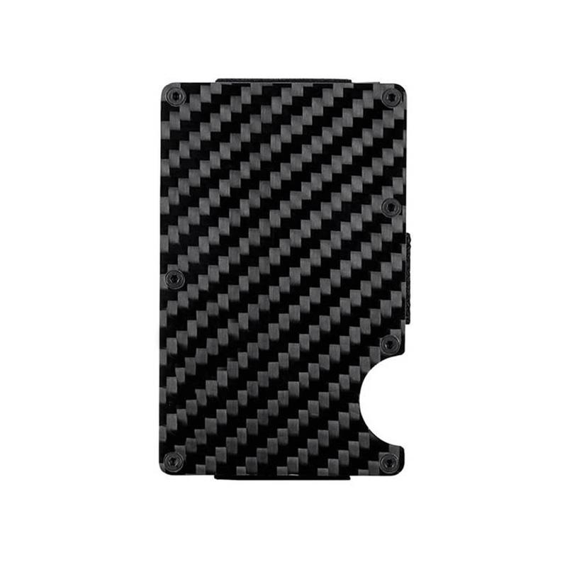 Real Carbon Fiber Wallet Minimalist Pur Carbon