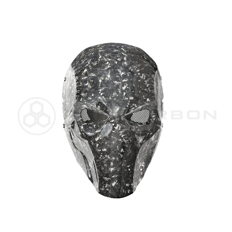 Pur Carbon Real Forged Carbon Fiber Mask PurMask