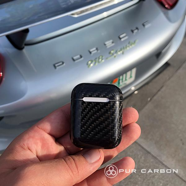 Real Carbon Fiber Airpod Case Pur Carbon