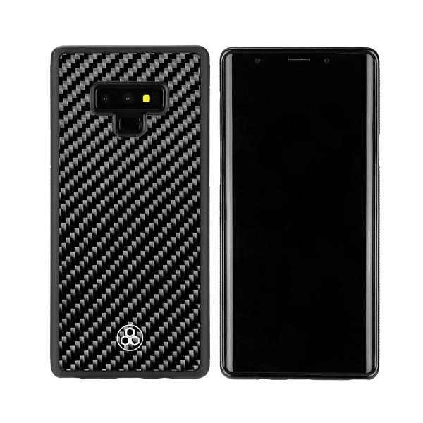 Phone Case Samsung Galaxy Note 9 Real Carbon Fiber Pur Carbon