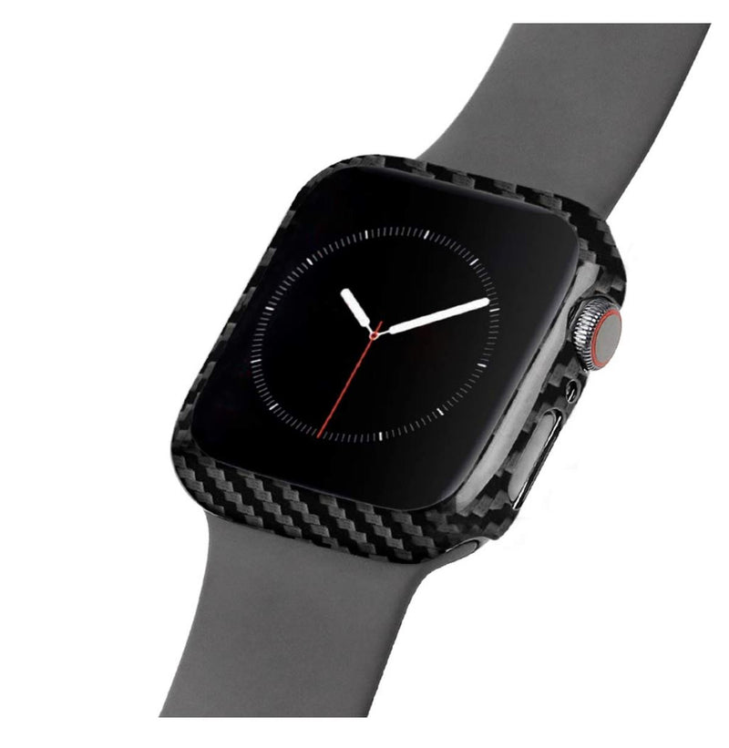 Real Carbon Fiber Apple Watch Case Pur Carbon