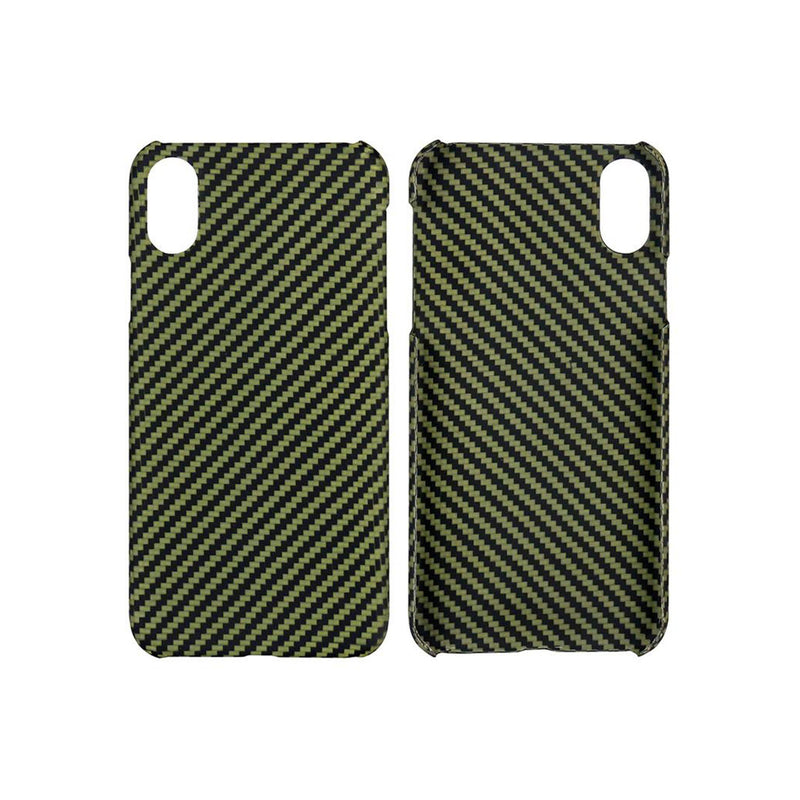 IPhone XS Carbon/Kevlar Hybrid Cover (MATTE)