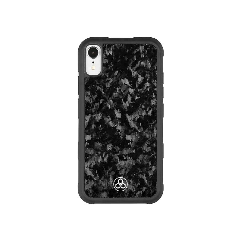 Real Forged Carbon iPhone XR Case Pur Carbon