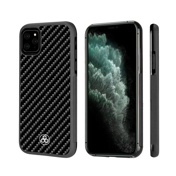 iPhone 11 Pro Max Real Carbon Fiber Phone Case | PURSHOCK 2.0