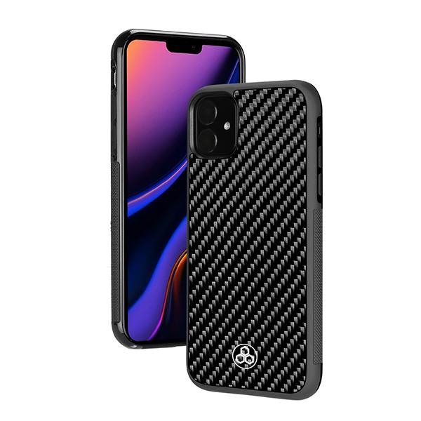 Real Carbon Fiber iPhone 11 Phone Case Pur Carbon