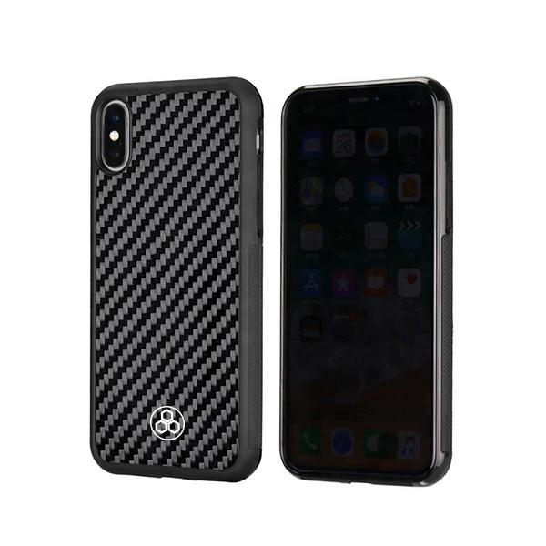 Real Carbon Fiber iPhone X and XS Phone Case Pur Carbon