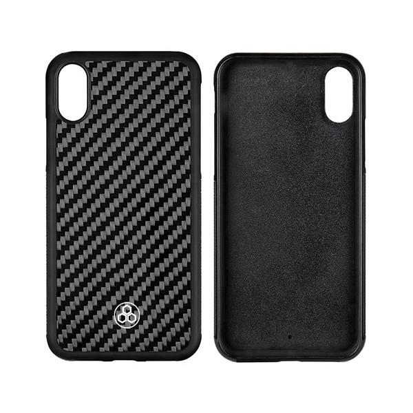 Real Carbon Fiber Phone Case for iPhone X and XS 10 Pur Carbon
