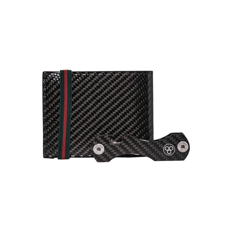Real Carbon Fiber Key Holder & Organizer| SMART KEY