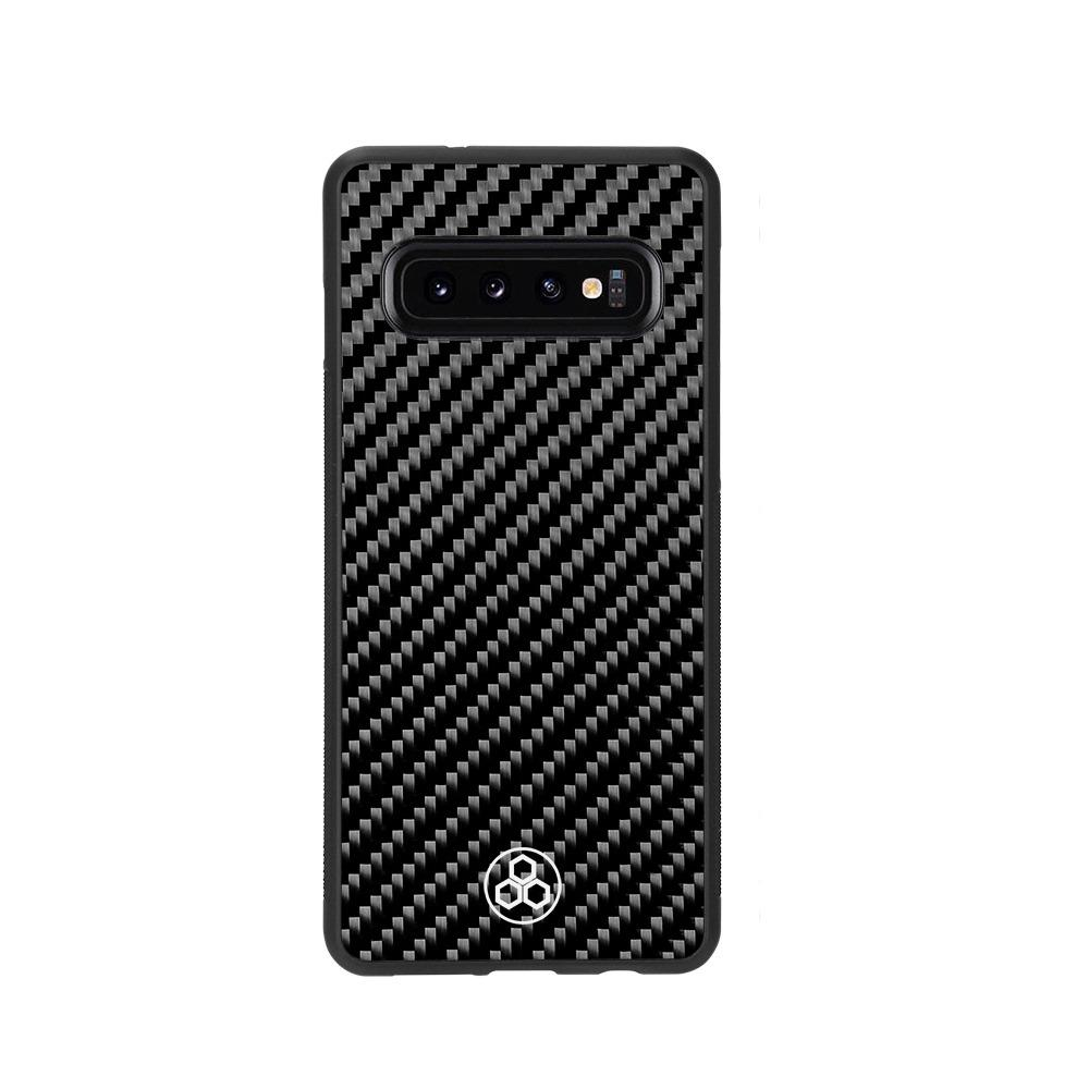 Samsung S10 Real Carbon Fiber Phone Case | PurSHOCK GRIP