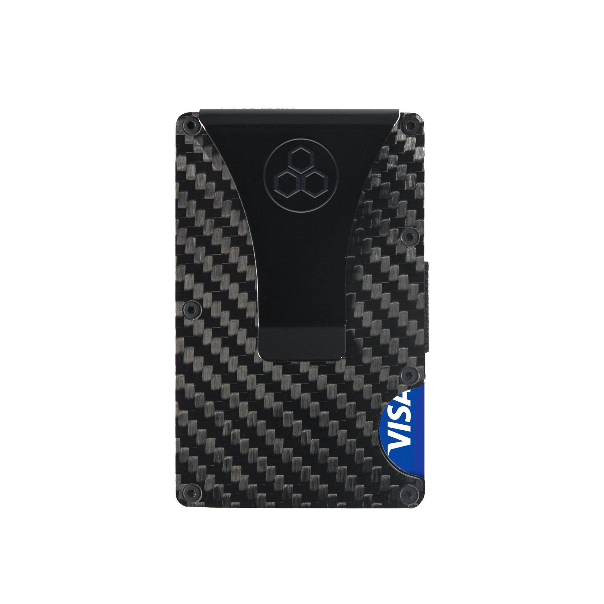 Real Carbon Fiber Rfid Wallet | MINIMALIST DELUXE SET