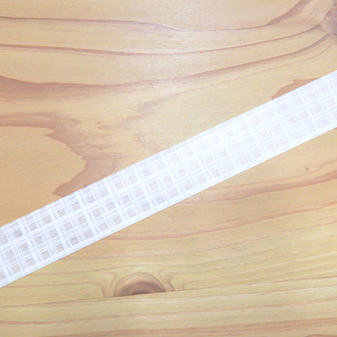 Masking Tape - ROUND TOP, check, 20mm x 8m