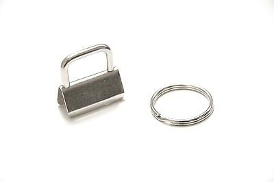 "Key Fob Hardware - 1"" (25mm), with 25mm Split Ring - KEY Handmade  - 1"