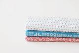 "Quarter Fabric Pack - Cotton, Dailylike ""Alley"" - KEY Handmade  - 1"