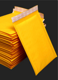 Bubble Envelope - Yellow Kraft, Blank (by 100)