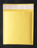 Bubble Envelope - Yellow Kraft, Blank (by pc)