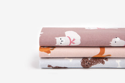 "Quarter Fabric Pack - Cotton, Dailylike ""Animal 1"" - KEY Handmade  - 1"