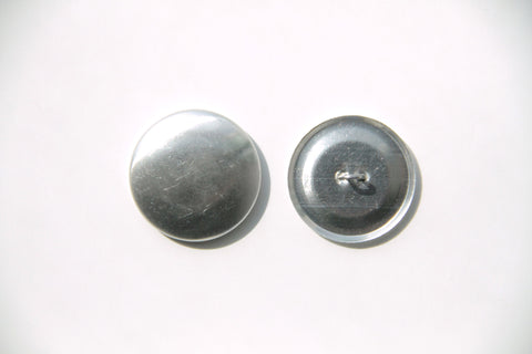 Cover Button - 27mm, Round, Wire Back - KEY Handmade  - 1
