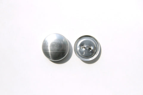 Cover Button - 18mm, Round, Wire Back - KEY Handmade  - 1