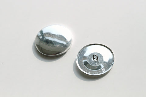 Cover Button - 38mm, Round, Wire Back - KEY Handmade  - 1