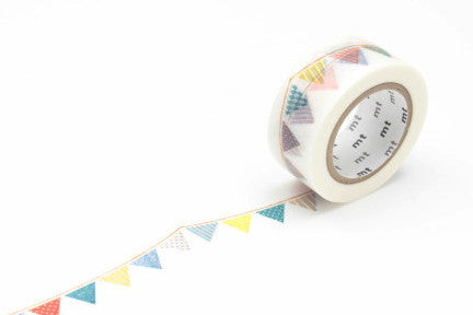 Masking Tape - mt ex, Flag, 20mm x 10m - KEY Handmade  - 1