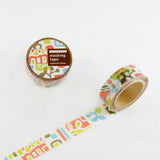 Masking Tape - ROUND TOP, NATURE, 20mm x 5m - KEY Handmade  - 3