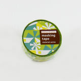 Masking Tape - ROUND TOP, GREEN, 20mm x 5m - KEY Handmade  - 2