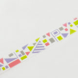 Masking Tape - ROUND TOP, FLAG, 20mm x 5m - KEY Handmade  - 1