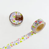 Masking Tape - ROUND TOP, FLAG, 20mm x 5m - KEY Handmade  - 3