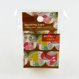 Masking Tape - ROUND TOP, FUJI, 20mm x 5m - KEY Handmade  - 2