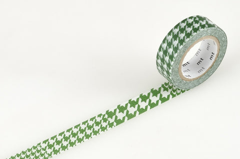 Masking Tape - mt DECO, Chidori • Green, 15mm x 10m - KEY Handmade  - 1