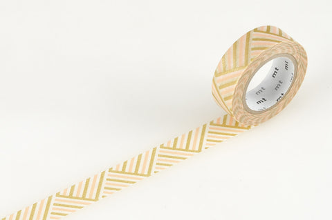 Masking Tape - mt DECO, Corner • Peach, 15mm x 10m - KEY Handmade  - 1