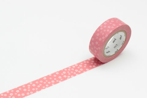 Masking Tape - mt WAMON, Nejiriume・Haru, 15mm x 10m - KEY Handmade  - 1