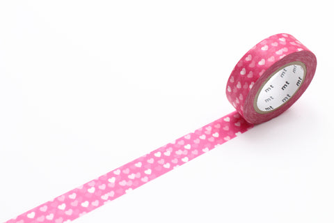 Masking Tape - mt DECO, Heart Spot, 15mm x 10m
