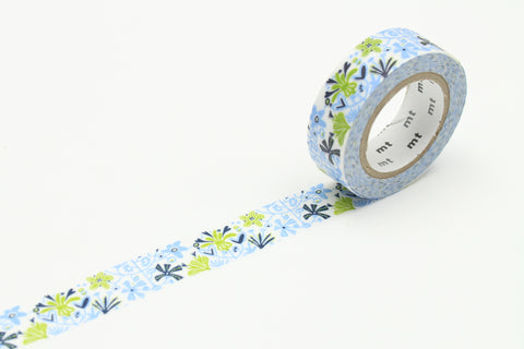 Masking Tape - mt x Nordic countries, alma blue, 15mm x 10m