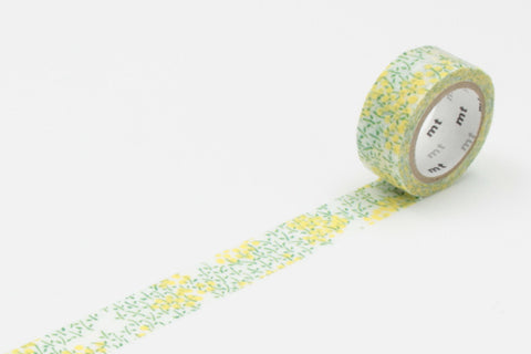 Masking Tape - mt fab, Field Mustard, 15mm x 3m - KEY Handmade  - 1