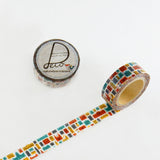 Masking Tape - ROUND TOP, Street, 15mm x 10m - KEY Handmade  - 3