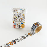 Masking Tape - ROUND TOP, Cats, 20mm x 5m - KEY Handmade  - 2