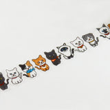 Masking Tape - ROUND TOP, Cats, 20mm x 5m - KEY Handmade  - 1