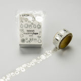 Masking Tape - ROUND TOP, Jewelry, 20mm x 5m - KEY Handmade  - 3