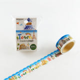 Masking Tape - ROUND TOP, Town, 20mm x 5m - KEY Handmade  - 3