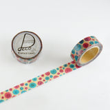 Masking Tape - ROUND TOP, Button, 15mm x 10m - KEY Handmade  - 3