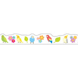 Masking Tape - PINE BOOK Nami-Nami Deco Masking Tape, Bird, 8mm x 8m - KEY Handmade  - 4