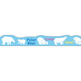 Masking Tape - PINE BOOK Nami-Nami Deco Masking Tape, Polar Bear, 8mm x 8m - KEY Handmade  - 4
