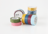 Masking Tape - mt WAMON, Nejiriume・Haru, 15mm x 10m - KEY Handmade  - 5