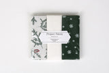 "Quarter Fabric Pack - Cotton, Dailylike ""Winter Tree"" - KEY Handmade  - 4"