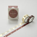 Masking Tape - ROUND TOP, Crown, 20 / 8mm x 4m - KEY Handmade  - 3