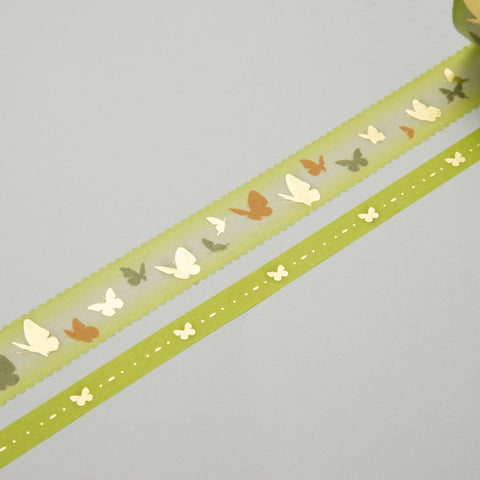 Masking Tape - ROUND TOP, Butterfly, 20 / 8mm x 4m - KEY Handmade  - 1