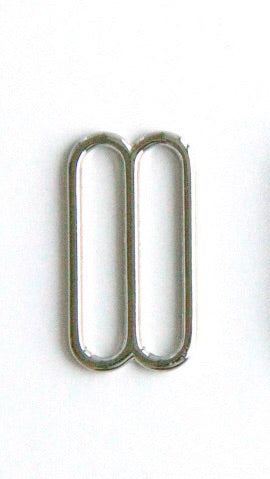 Slider - 20mm, Metal, Silver
