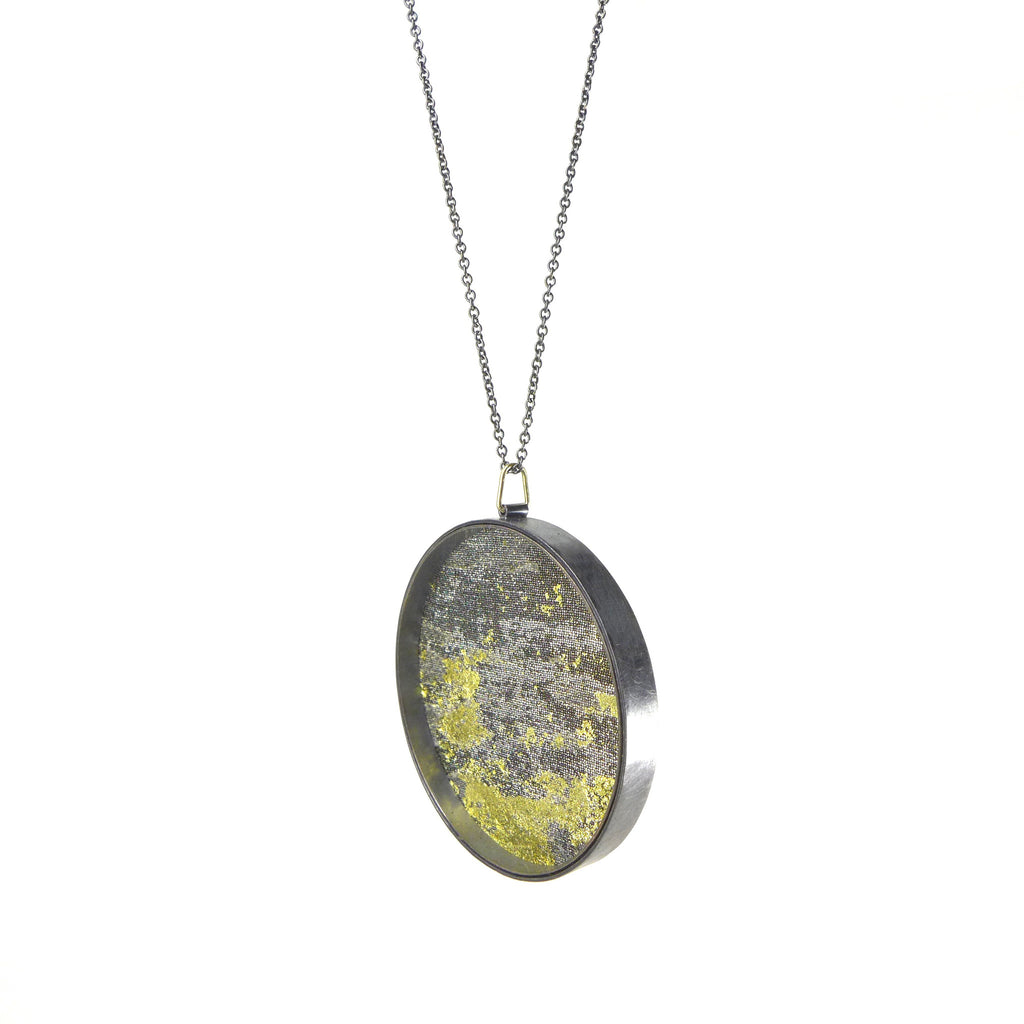 with pendant real leaf in itm is zhannel image lacey gold necklace chain leal yellow loading oak