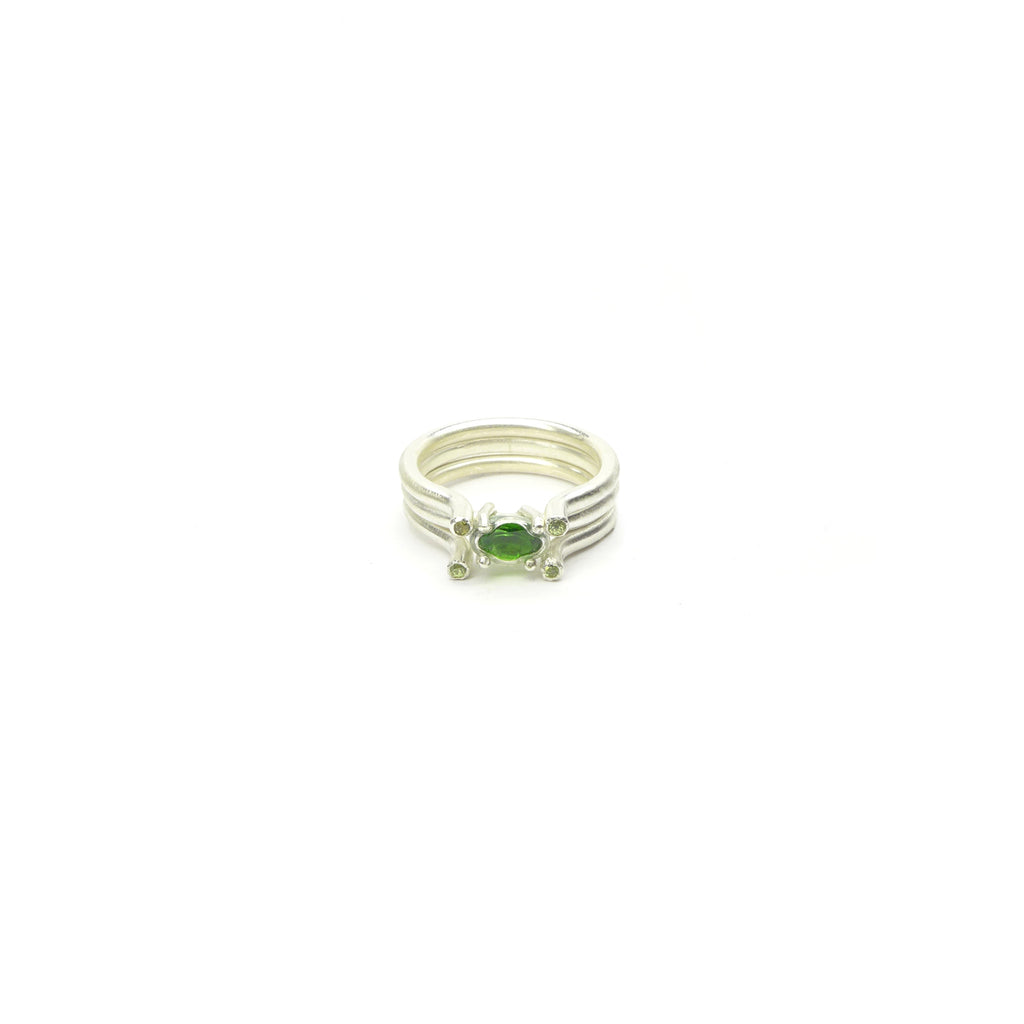 chrome diopside pile ring